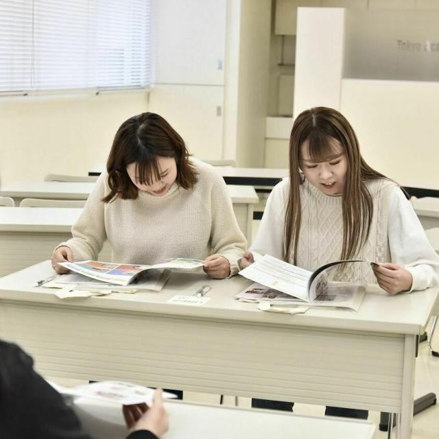 東京美容専門学校 オープンキャンパス&AO説明会(カットコース)2