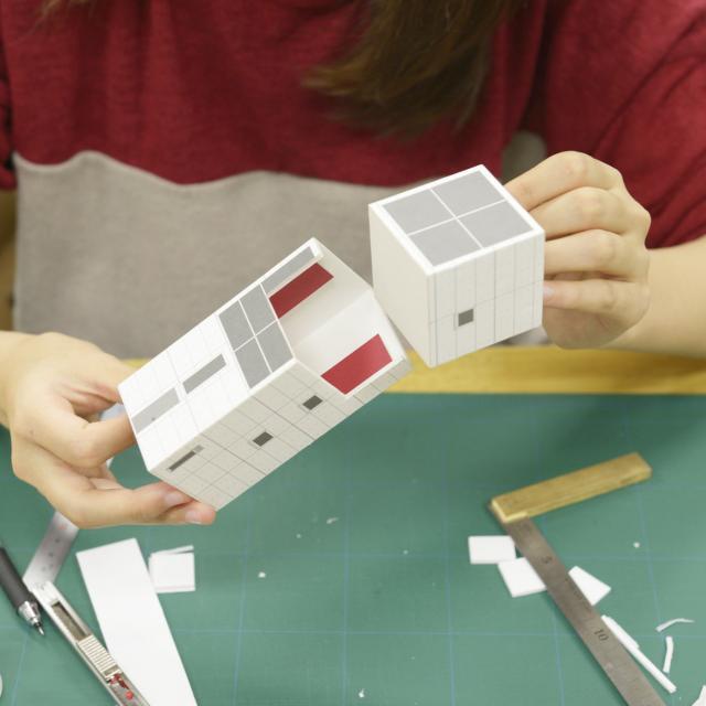 B:建築模型コース