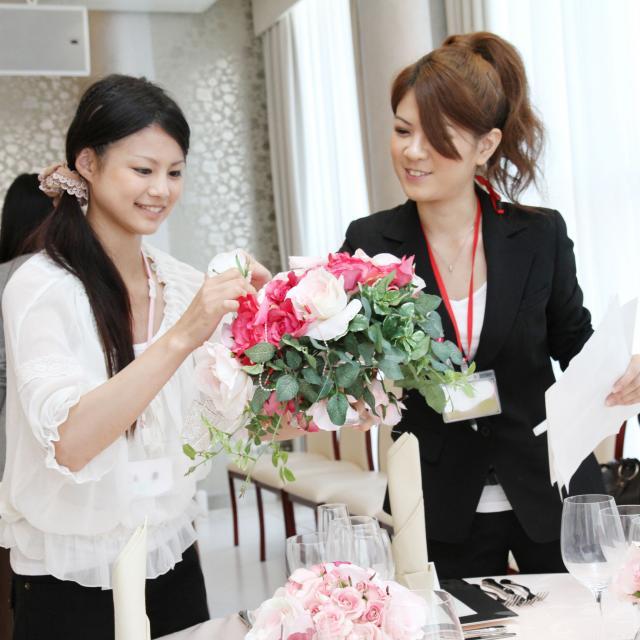 神戸ベルェベル美容専門学校 楽しいがたくさん♪ベルェベルのお仕事体験!1