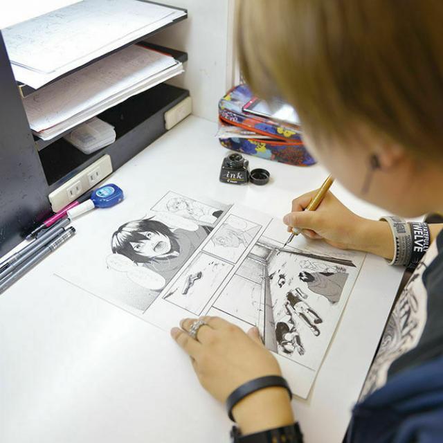 大阪デザイナー専門学校 はじめてのマンガ講座3