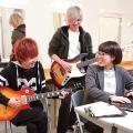 東放学園音響専門学校 音響芸術科の体験入学 「アーティストプロフィールをつくろう」