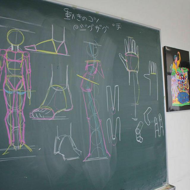 大阪デザイナー専門学校 はじめてのマンガ講座4