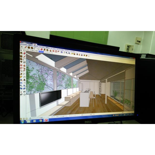 日本理工情報専門学校 建築:体験イベント!「CG体験/CAD体験」4
