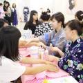 山野美容芸術短期大学 夏本番!!浴衣お出かけヘア&メイク体験!!