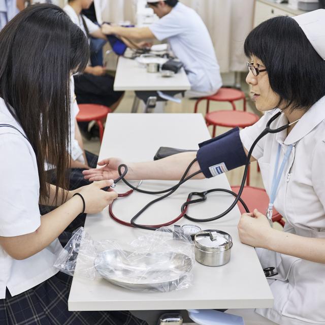 順正高等看護福祉専門学校 オープンキャンパス4