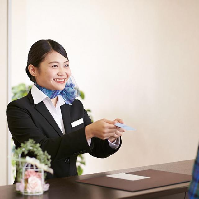 名古屋外語・ホテル・ブライダル専門学校 OPEN CAMPUS 国際ホテルコースへ参加1