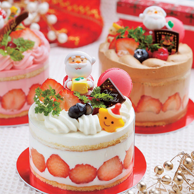 辻製菓専門学校 ~☆ 一人で一台!!! クリスマスケーキ ☆~1