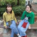 大阪文化服装学院 Xmasイベント + カワイイ♪ ニットのサコッシュづくり!