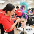 グラムール美容専門学校 見学イベント「2年生 サマーコンテスト」