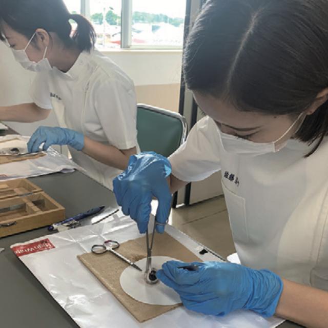 東北文化学園専門学校 【視能訓練士科】秋のオープンキャンパス1