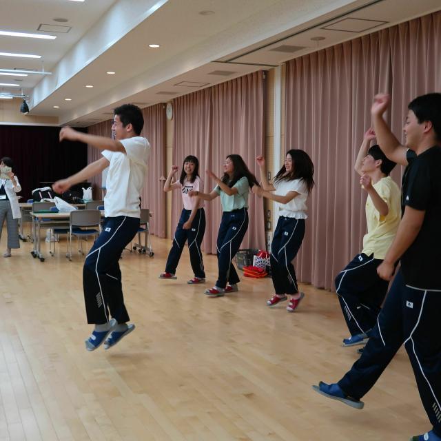奈良保育学院 ならほオープンキャンパス(体験授業)2