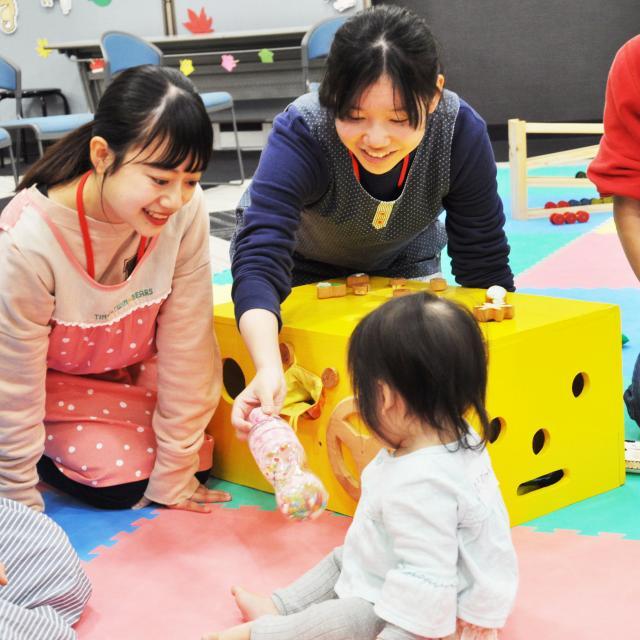 宮崎学園短期大学 【イオンモール宮崎】保育フェスティバル開催2