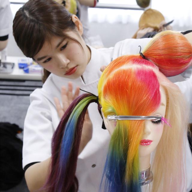 国際理容美容専門学校 ビューティ体験【ヘア】2