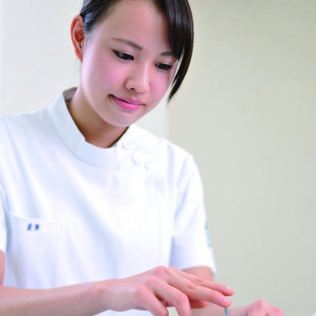北海道鍼灸専門学校 【はり実技】学校説明会2018!1