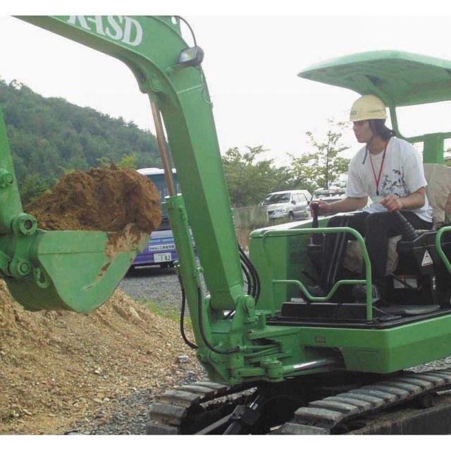 建設機械運転ができるオープンキャンパス