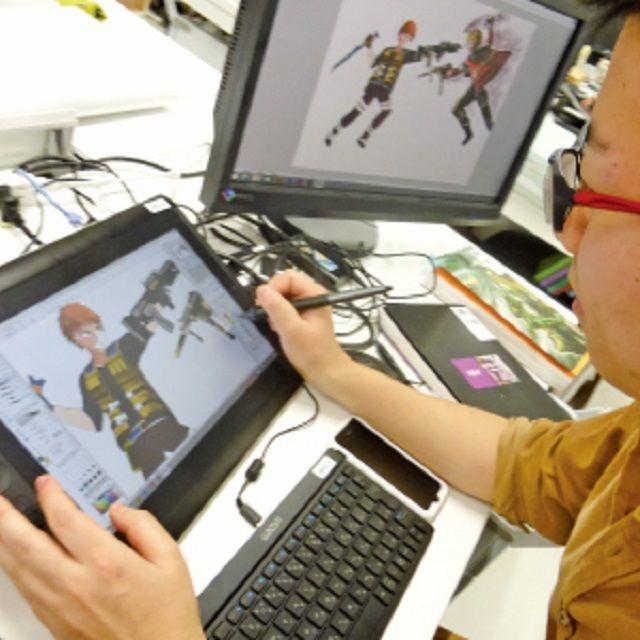 北海道芸術デザイン専門学校 bisenの体験入学【イラストレーション専攻】3