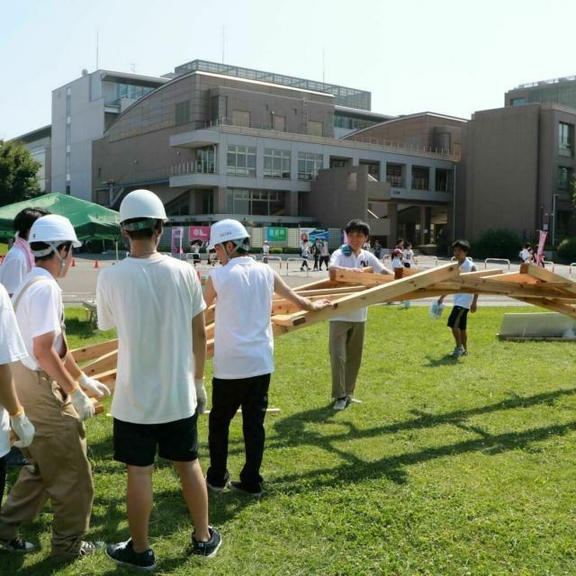 日本大学 【理工学部】オープンキャンパス1