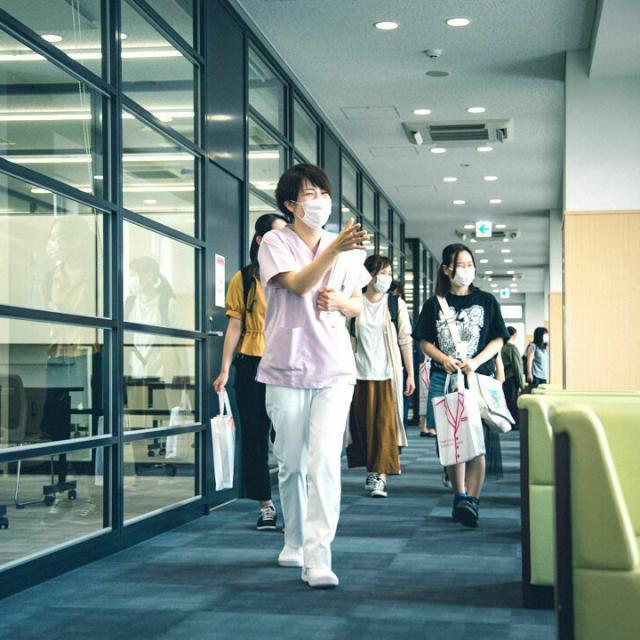 北海道医療大学歯学部附属歯科衛生士専門学校 オープンキャンパス1