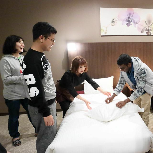日本デザイン福祉専門学校 9/19(日)「ホテルのおもてなし講座」ホテル観光講座4