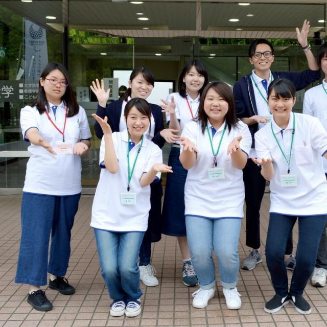 横浜創英大学 オープンキャンパス(2019年度最初)4