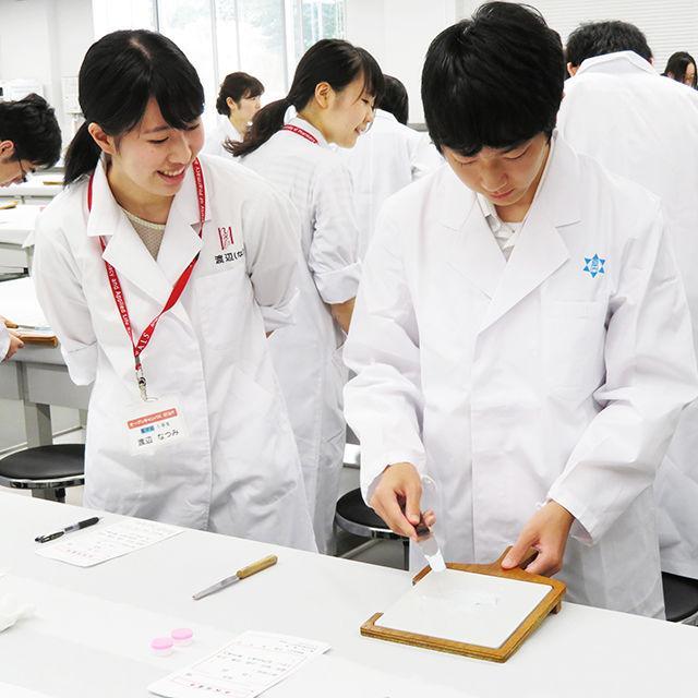 新潟薬科大学 【白衣を着て薬剤師体験】オープンキャンパス20192