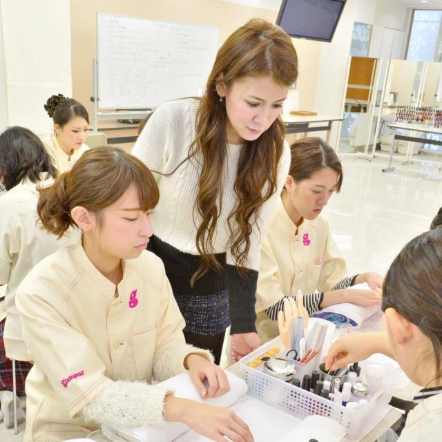 ネイルスペシャル!全日本ネイルチャンピオン特別ネイル実習