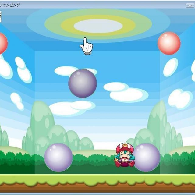 専門学校 東京テクニカルカレッジ [ゲームプログラミング科]ボールゲームでマウス操作しよう!1