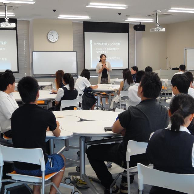 西九州大学オープンキャンパス2017(神埼キャンパス)