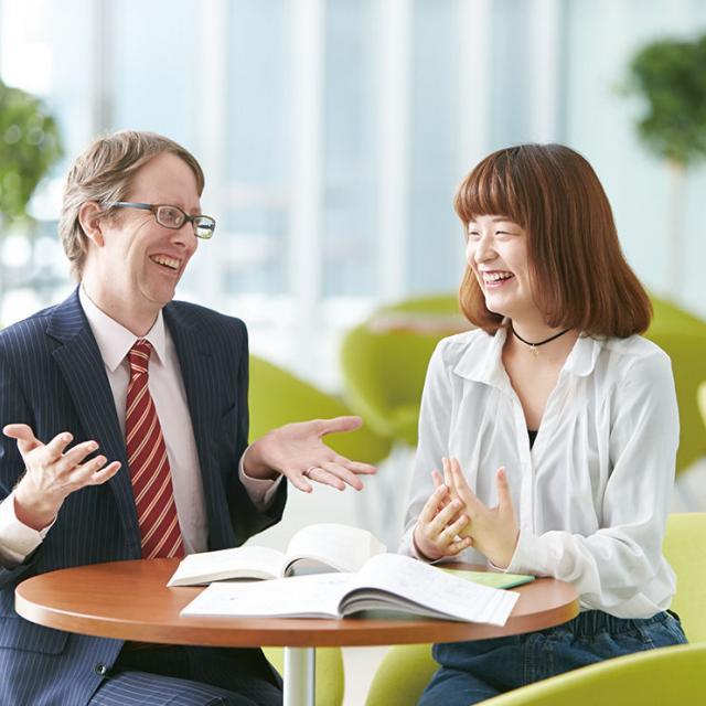 名古屋外語・ホテル・ブライダル専門学校 OPEN CAMPUS 留学コースへ参加1