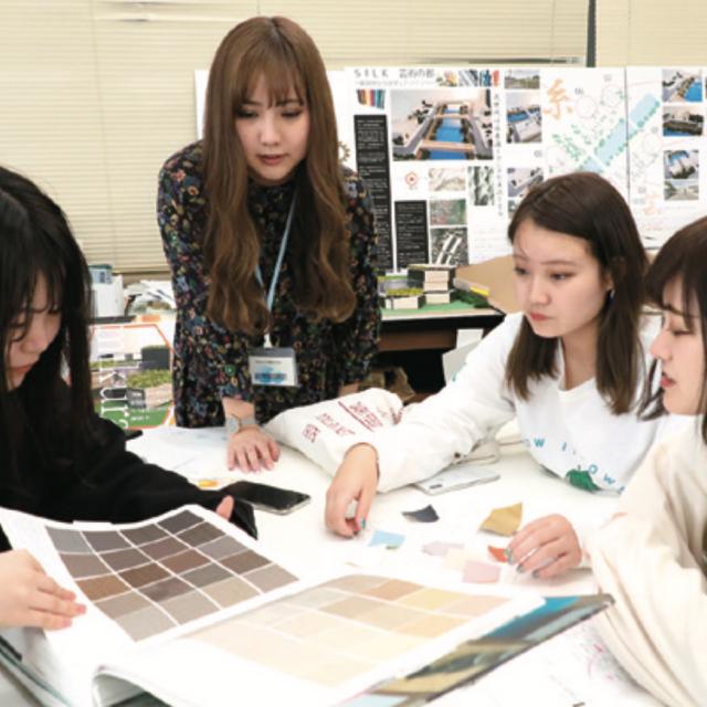 東北文化学園専門学校 【インテリア科】秋のオープンキャンパス2