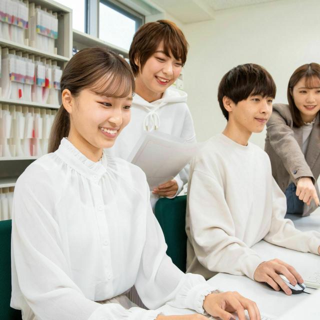 あいちビジネス専門学校 医事コンピュータと医療ITの おシゴト体験1