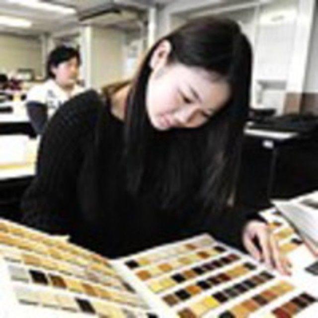 大阪建設専門学校 【建築・インテリア】カラーコーディネート体験20202