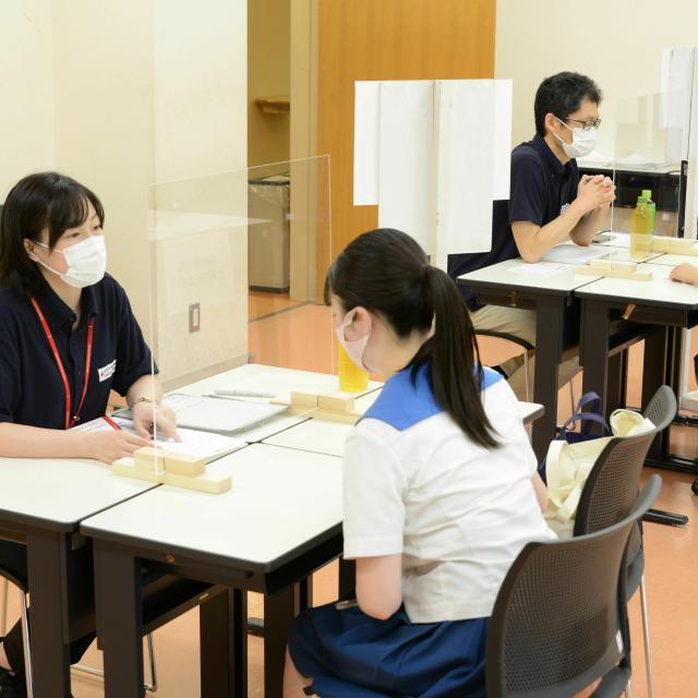 日本赤十字秋田短期大学 2021秋のミニオープンキャンパス2