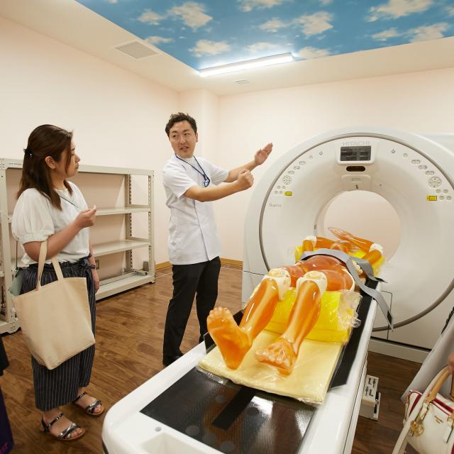 新潟医療福祉大学 【診療放射線技師】の仕事体験!画像情報より病気を見つけよう!2