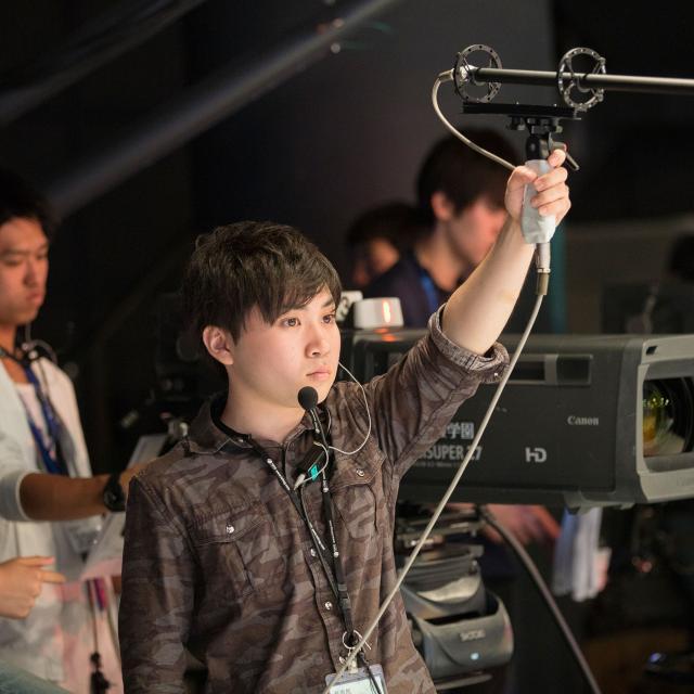 東放学園専門学校 放送音響科の体験入学「テレビ音声を体験しよう!」1