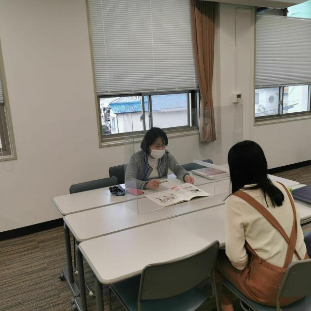神戸海星女子学院大学 【心理こども学科】個別相談型オープンキャンパス2