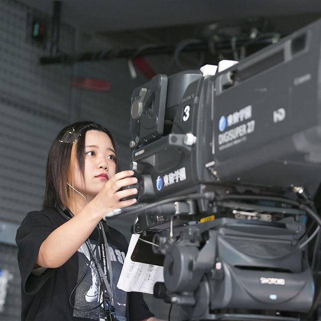 東放学園専門学校 放送技術科の体験入学「テレビ番組撮影・編集入門」1