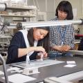 金沢科学技術専門学校 【建築学科】屋根の形や窓の大きさを考えた住宅模型を作ろう!