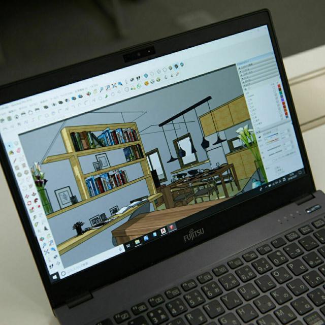 専門学校 東京テクニカルカレッジ 【建築科】パソコンで住宅を設計してみよう1