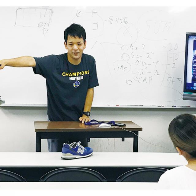 大阪ビジネスカレッジ専門学校 スポーツビジネス分析! ~利益を生み出すスポーツとは?~1