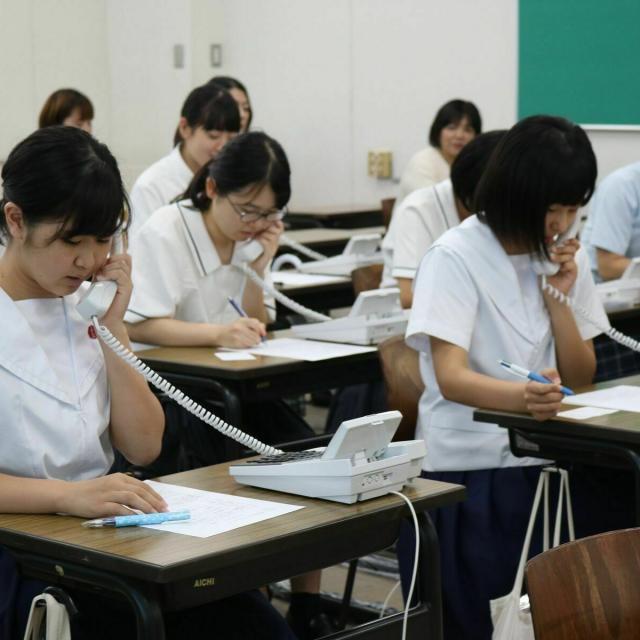 長崎女子短期大学 女子短、夏のオープンキャンパス20201
