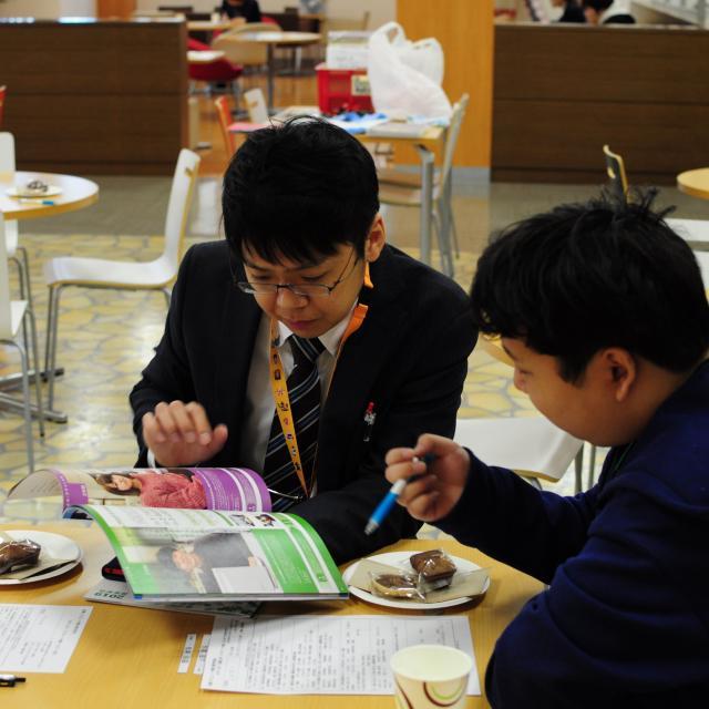 近畿コンピュータ電子専門学校 進路相談会開催2