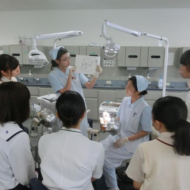 鹿児島歯科学院専門学校 オープンキャンパス(歯科衛生士科)1