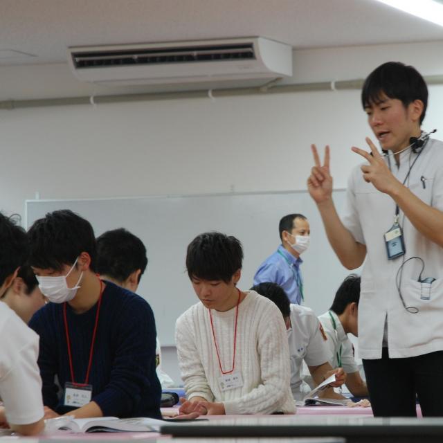 茅ヶ崎リハビリテーション専門学校 学校説明会(理学療法学科)4