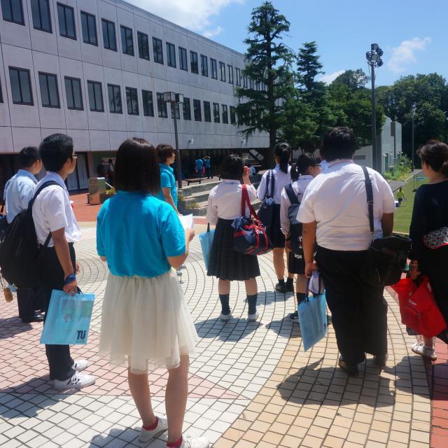 徳山大学 【徳山大学】春風オープンキャンパス3