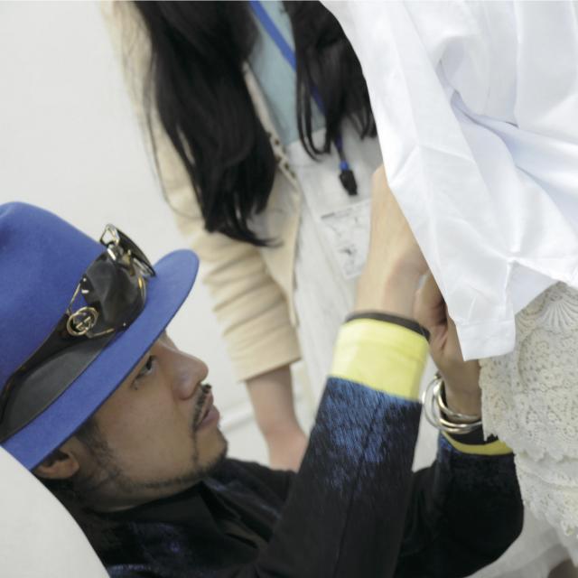 マロニエファッションデザイン専門学校 スタイリングレッスン(1)1