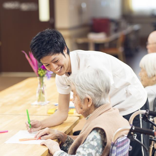 こころ医療福祉専門学校 一人ひとりに合わせたサポート 介護福祉士の職業体験!2