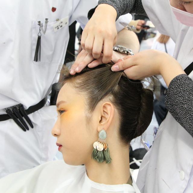 日本美容専門学校 2018 体験入学 【総合美容科】2