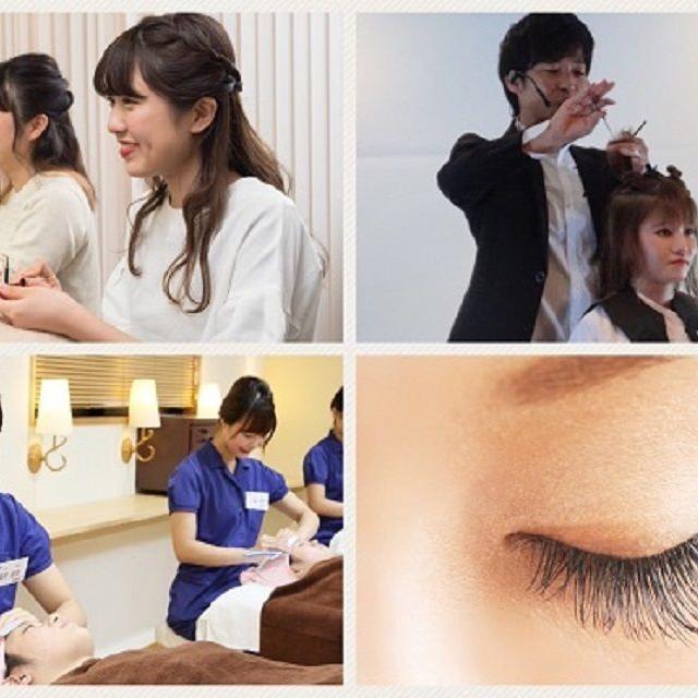 理容美容専門学校西日本ヘアメイクカレッジ NHCリアルな授業体験1