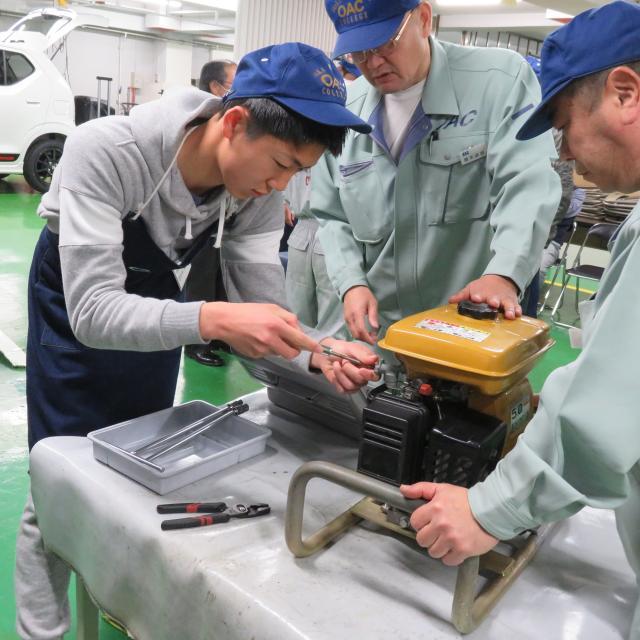 大阪自動車整備専門学校 オープンキャンパス1